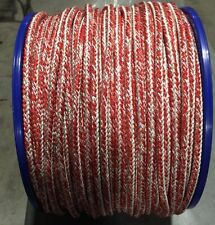 Laser Sailboat MainSheet Robline Racing Main Sheet 8 MM Red Dyneema Med/Hvy Air