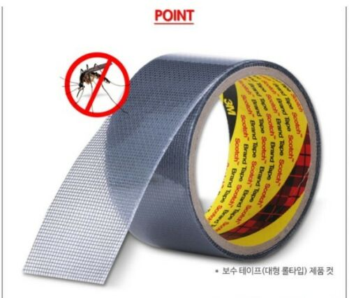 3M SCOTCH Window Bug Screen Repair Tape 5CM 1.5M 3M Mosquito Net Pest Control