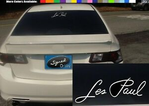 2-6-les-paul-vinyl-Decal-sticker-any-size-color-surface-car-guitar-S698