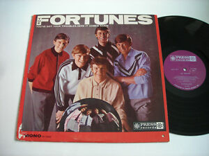The-Fortunes-Self-Titled-1965-Mono-LP-VG
