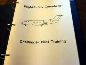 challenger flight manual