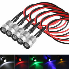 5x LED Indicator Light Lamp Pilot Dash Directional Car Truck Motorcycle Boat 12V
