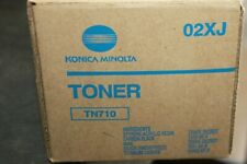02XJ Lot of 2 New Genuine Konica Minolta Bizhub 600 601 750 751 Toner TN710