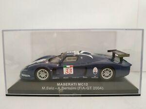 1-43-MASERATI-MC12-FIA-GT-2004-SALO-BERTOLINI-IXO-ALTAYA-ESCALA-SCALE-DIECAST