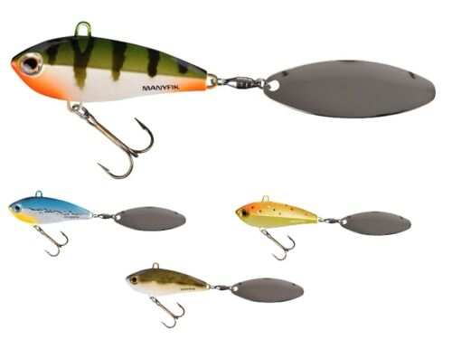 sinking lure for perch tail spinners Manyfik IWO SW 23 55mm 23g pike