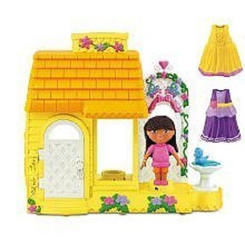 Dora's Fantasy Adventures Fisher Price Dora the Explorer Dress & Spin