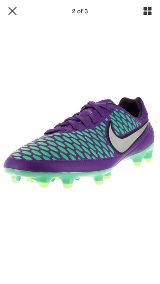 Nike Magista Orden FG men soccer cleats hyper grape 651329-505 sz 10 NNB