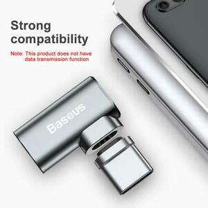 Baseus-Mini-USB-C-Type-C-Fast-Charging-Magnetic-Elbow-Adapter-Converter-MacBook