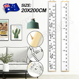 Kids-Height-Growth-Ruler-Chart-Children-Wall-Hanging-Personalised-Measure-Wooden
