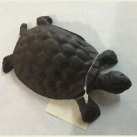 Rustic Cast Iron Turtle Paper Weight Garden Decor Yard Art
