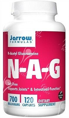 Jarrow Formulas, NAG, 700mg x120caps;- Irritable Bowel Syndrome - Inflammation