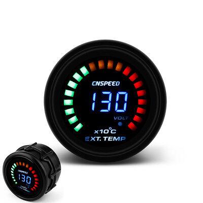 "2/"" 52mm Universal Car EGT Exhaust Gas Temp Gauge LED Digital Temperature F2S2 UK"