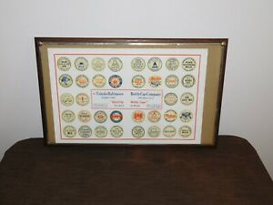VINTAGE-TOLEDO-BALTIMORE-MILK-BOTTLE-CAP-COMPANY-FRAMED-PRINT