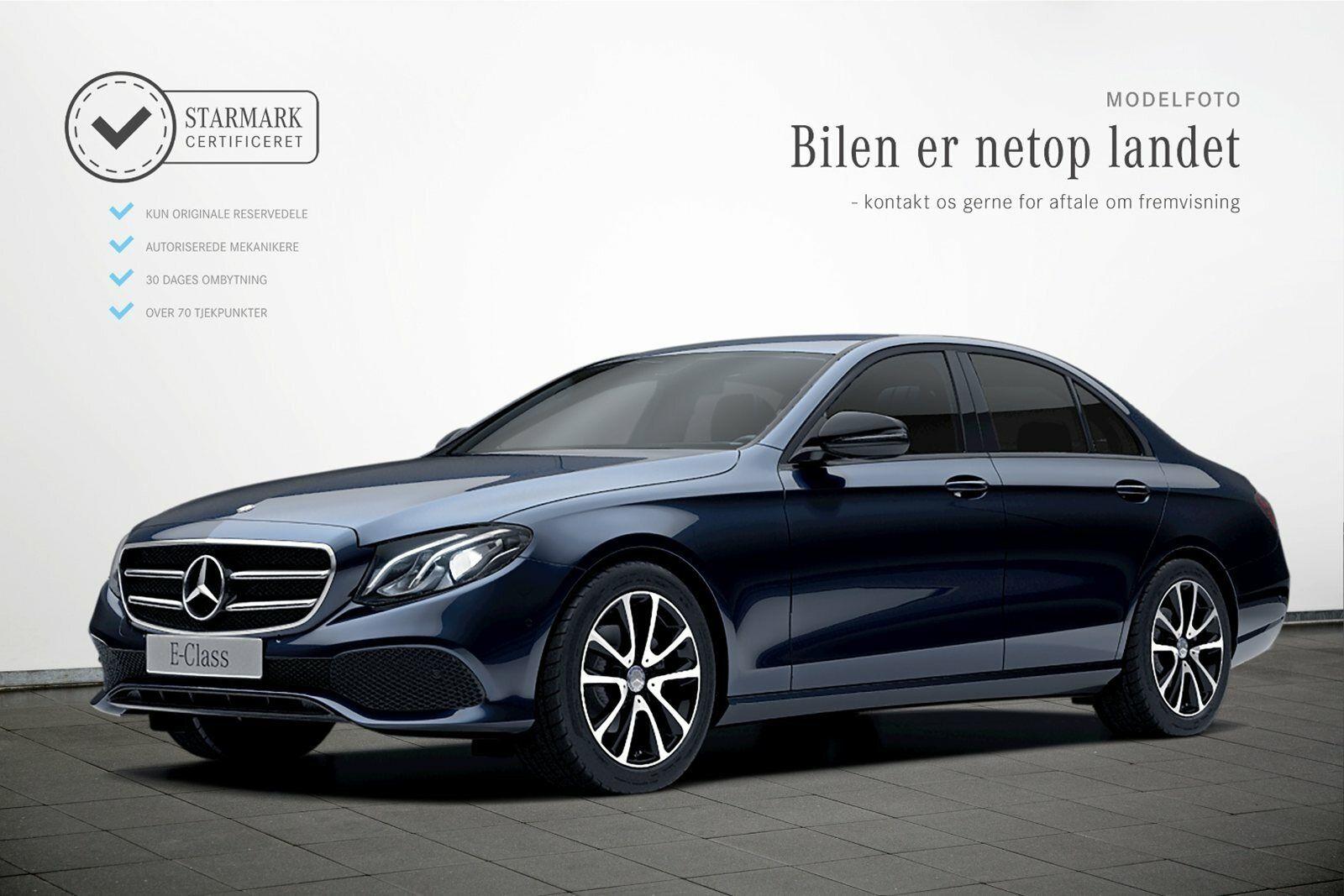Mercedes E220 d 2,0 Avantgarde aut. 4d - 449.900 kr.