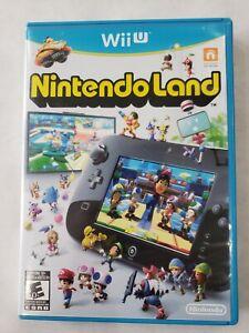 NintendoLand-Nintendo-Land-Instruction-Manual-Nintendo-Wii-U-MINT-DISC-Free-S-H