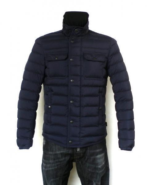 new style c6bf8 14b1f Moncler Daunenjacke Herren FAUST 2 ° - 48 blau