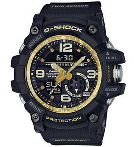 Casio-G-Shock-Mudmaster-Twin-Sensor-Men-039-s-Watch-GG-1000GB-1A