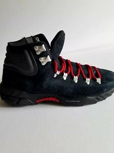 NIKE ACG ZOOM MERIWETHER Black Red Suede Zipper Boots Men s Shoes ... 9a5b99039d52