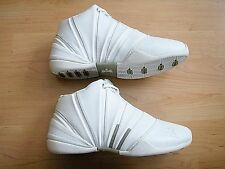 NEW STEPHON MARBURY STARBURY WHITE LEATHER HIGH TOP BASKETBALL SHOES 4 US  35.5