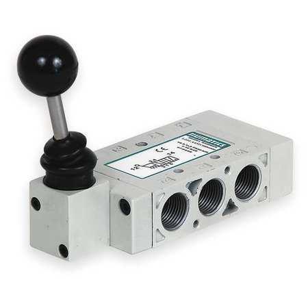 NUMATICS L23LD452O000000 Manual Air Control Valve,4-Way,3//8In NPT