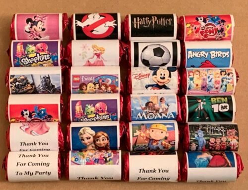 GIFTS THEME Y 10 x FUNKY PERSONALISED MINI LOVE HEARTS PARTY BAG FILLERS