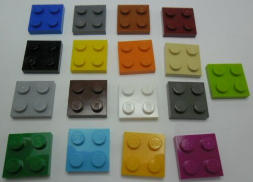 3022 FARBAUSWAHL LEGO 10x Platte 2x2 Noppen