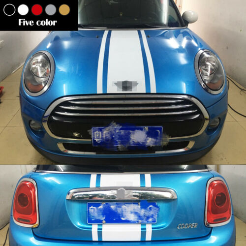 For Mini Cooper Hood and Boot Racing Stripes Decal R60 Countryman  Sticker