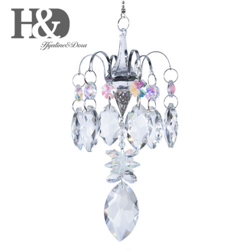Crystal Chandelier Ball Prism Pendant With Horse Eye Sun catcher Garden Ornament