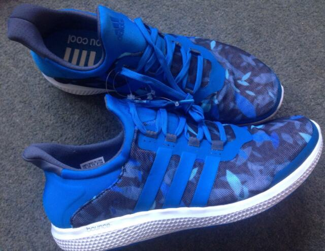 bafb4d854c3f Adidas S78244 Climachill Sonic Boost Bounce Running Shoe Trainers Blue 8  8.5 42