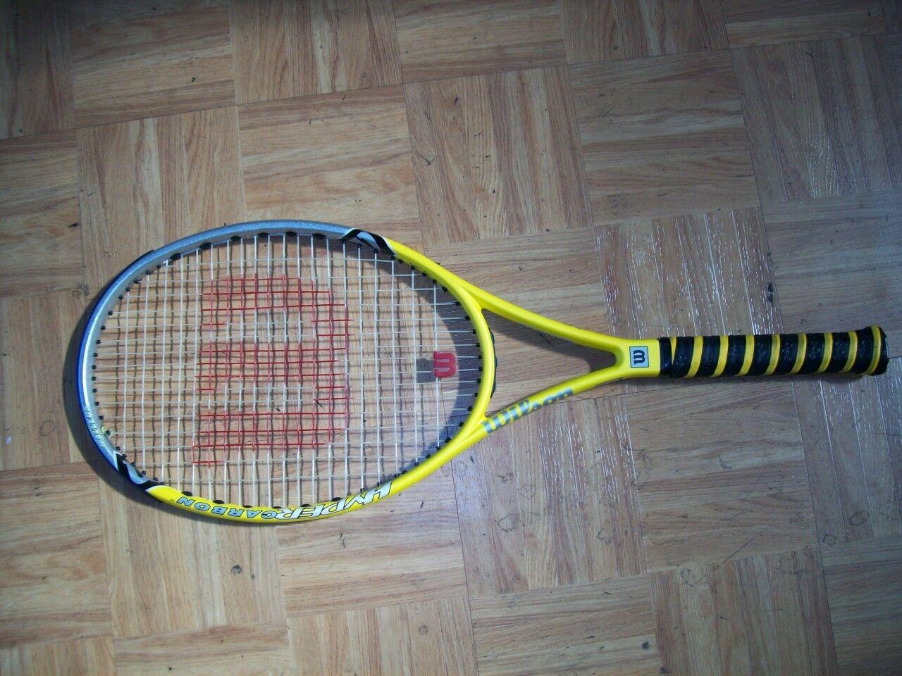 Wilson Hyper Hammer 6,6 rodillos  98 4 5 8 Raqueta De Tenis  preferente