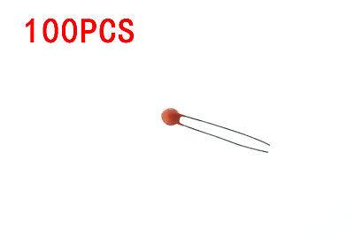 100 x 100pF .1nf Ceramic Disc Capacitor 50v Cap 10/% Radial Lead 50 v 100 pf