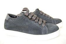 Buffalo Damen Plateau Sneakers Wildleder dunkelgrau 37 Neu SHOE 39_00 H15683