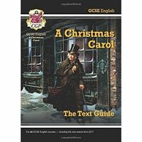 GCSE English Text Guide - A Christmas Carol by CGP Books (Paperback, 2015)