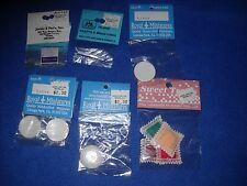 Miniature accessories: pizza box/wheel, 4 plates, etc,.1:12 scale, NIB, lot #21