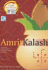 BEST OF DEVOTIONAL - AMRIT KALASH - ANUP JALOTA - PEENAZ MASANI - 5CDs SET