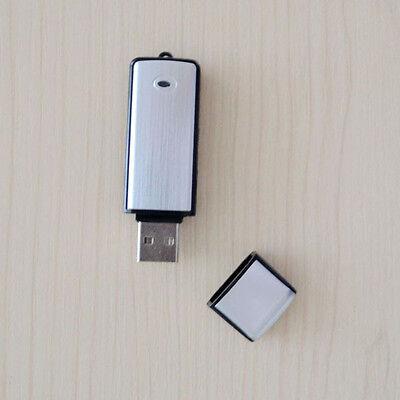 USB 8GB 2in1 Mini USB Spy Digital Pen Audio Voice Recorder Flash Drive Black BL