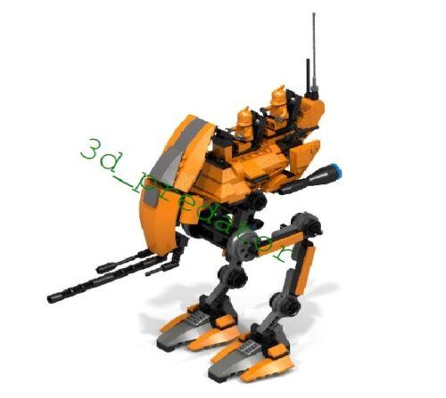 Utapau Walker AT-TRCT CUSTOM Bauanleitung Instruction für LEGO ® Star Wars ™ ®