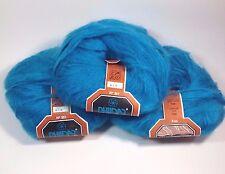 3 Skein 70% Kid Mohair Lot Phildar Yarn 50g. Each Made in Belgium Retired NOS