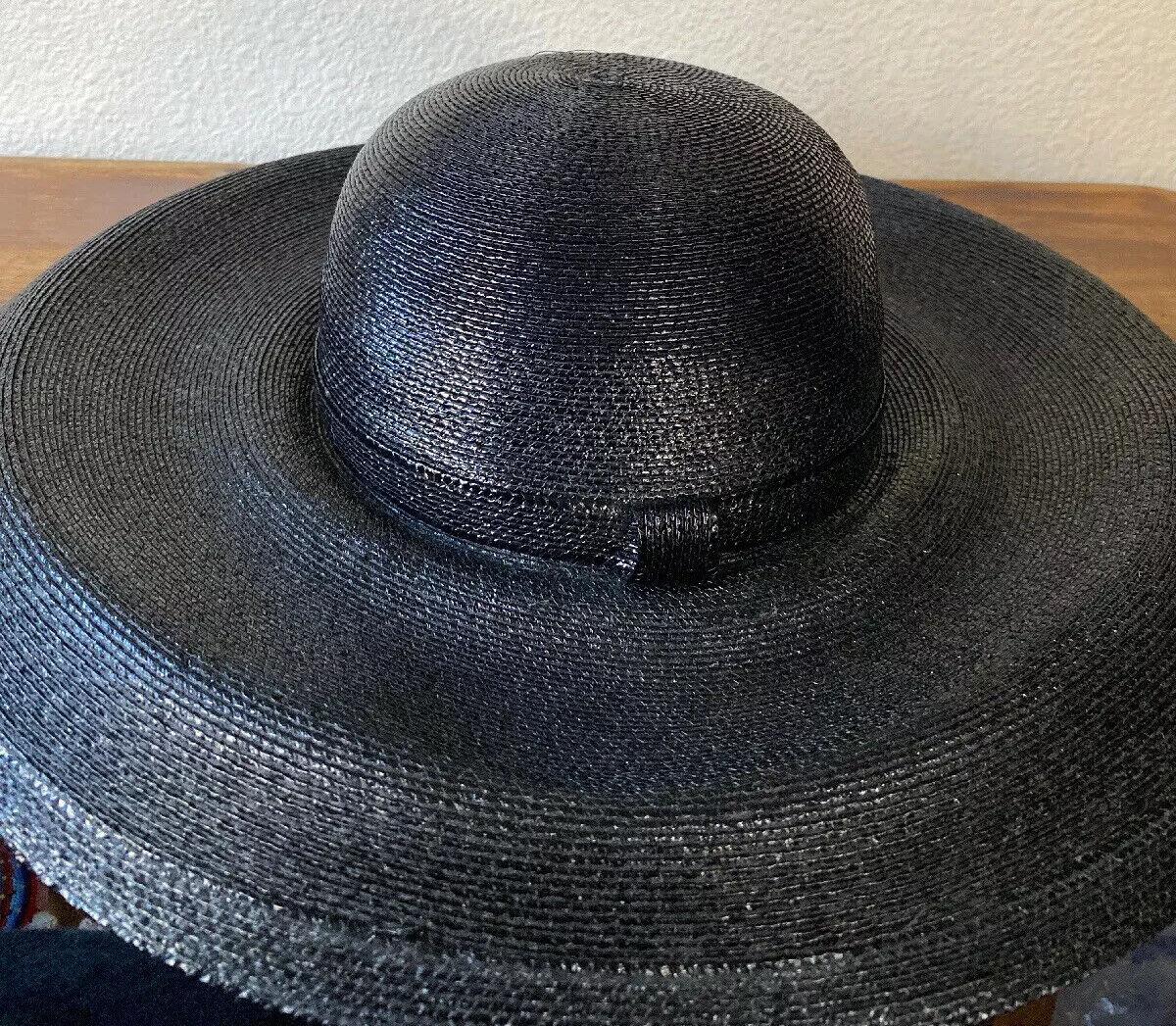 Vintage Amen Wardy Large Hat ! 1980's Large Brim … - image 9