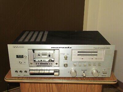 Vintage Marantz SD4000 tape player push knob Play FF REWIND EJECT.