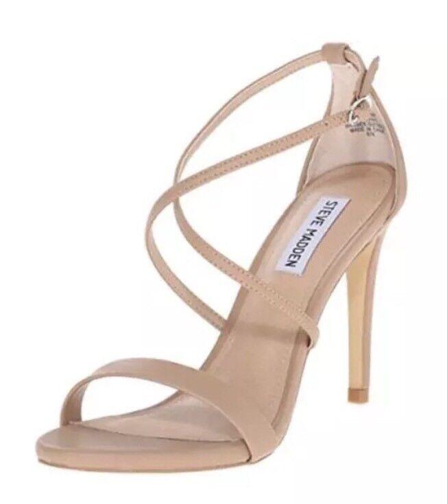 Steve Madden Feliz Women's Natural Sandal Sz 8.5 M 4470
