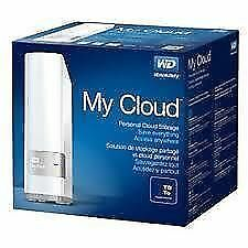Western Digital My Cloud 4TB Ethernet USB 3.0 Hard Disk Drive 4 TB WD**