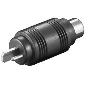 Audio-Adapter-Lautsprecher-auf-Cinch-Chinch-Cinc-RCA-Kupplung-Buchse-weiblich