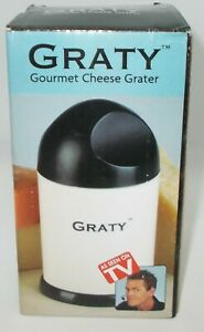 AS-SEEN-ON-TV-Gourmet-Cheese-Grater-New-In-Box