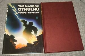 Neville-Spearman-1974-The-Mask-of-Cthulhu-by-August-Derleth-1st-Thus-Fine-copy