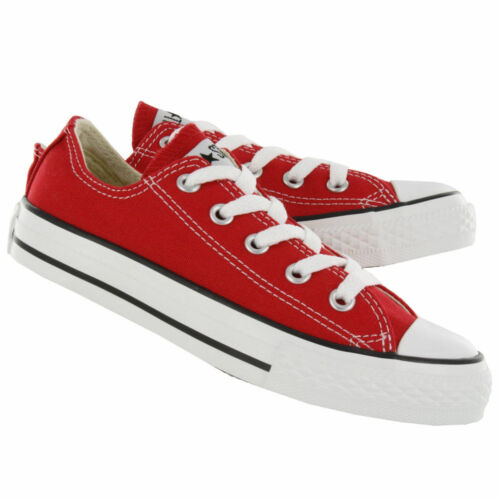 Unisex Toddler Chuck Taylor Converse All Star Low New Red F2