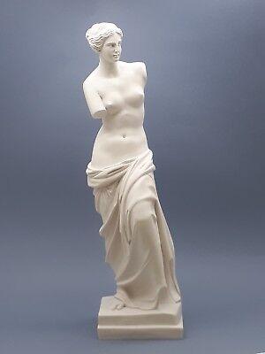 Aphrodite Venus De Milo Greek Goddess Cast Marble Statue Sculpture 15 55 In Ebay