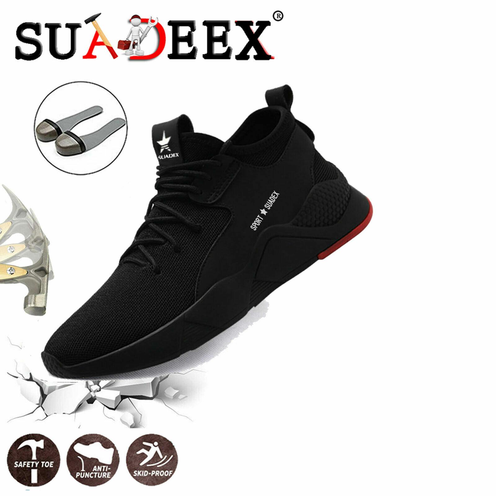 Купить Mens Work Safety Shoes Steel Toe