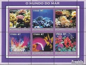 Smart Mozambique 2608-2613 Sheetlet Unmounted Mint Never Hinged 2002 World Of Marine Special Buy Africa Animal Kingdom