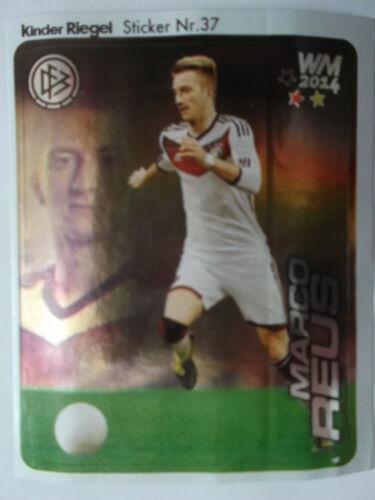 Duplo//hanuta 37 Coupe du monde 2014 Marco reus Allemagne